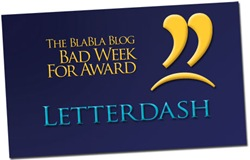 Bad-Week-For-Award-Letterdash