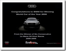 Audi Ad (Click to enlarge)