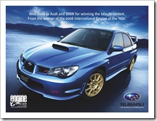 Subaru Ad (Click to enlarge)