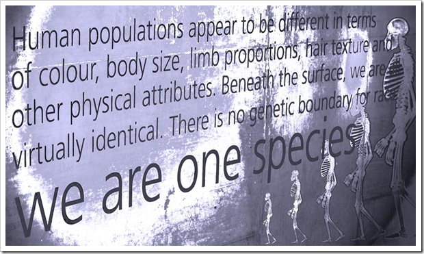 We Are One Species (c) Greg Pillhofer, 2009