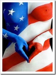 Photo Source (c) DansGirl27 | http://s121.photobucket.com/albums/o217/dansgirl27/?action=view&current=AmericanFlag_BodyPaint.jpg