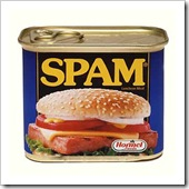 Hmmm, spam! Yummy. Please Sir, can I have some more! Dumb arse tossers!