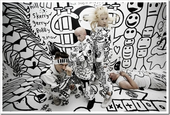 "Die Antwoord with Leon Botha in ""Enter the Ninja"""