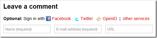Sign in with Facebook to leave a comment, NOT to access your Facebook account!