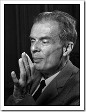 Aldous Huxley (pic http://www.gpaulbishop.com)