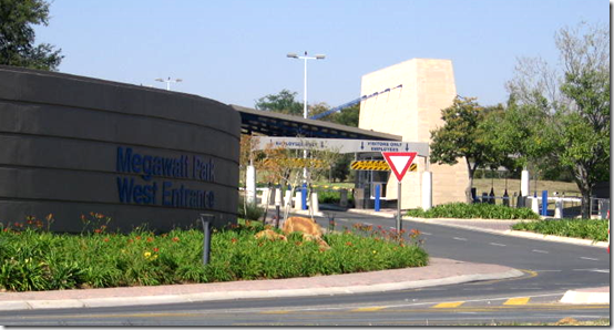 Eskoms' Megawatt Park corporate headquarters in Sunninghill, Johannesburg