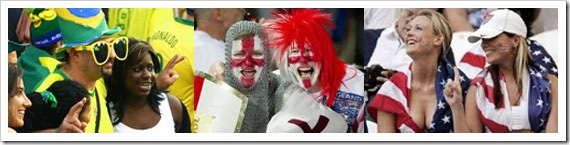 Foreign fans in South Africa for World Cup 2010 - They're Lovin' It!