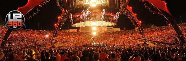 U2 South Africa 2011 360° Degree Concert Tour Details