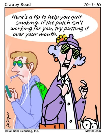 Smoking - Maxine