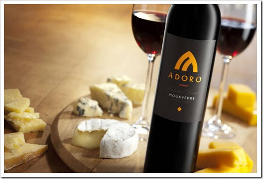 Adoro Mourvedre with cheese landscape-w800