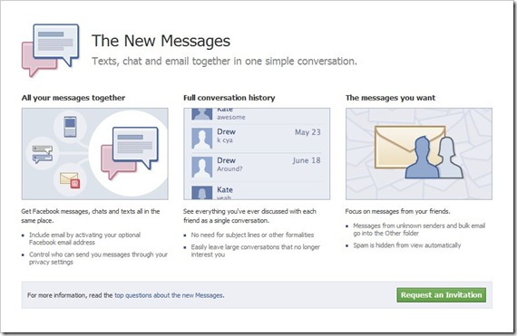 FBMessages Invite Screen