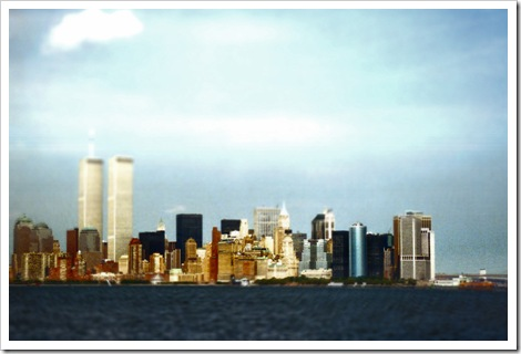 NYC Skyline 1999 (c) Greg Pillhofer, 2010. Click to enlarge.