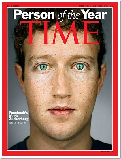 Time PotY 2010 - Mark Zuckerberg