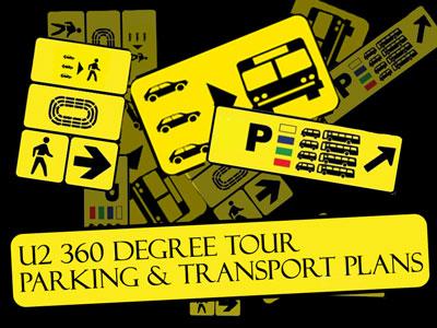 U2 360 Degree Tour Parking & Transport Plans