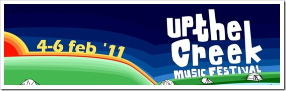 Click here to enter & win Double Entry Tickets to Up The Creek 2011