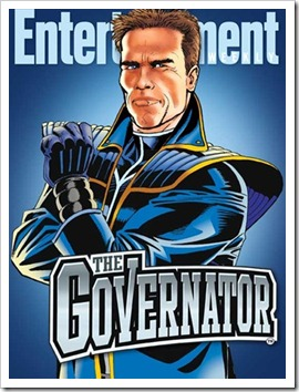 The Governator (c) Entertainment Weekly