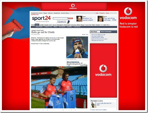 vodacom red overkill on sport24