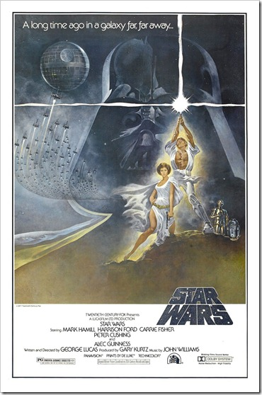Star Wars Original 1997 One Sheet poster