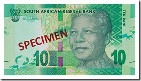 Randelas: our new South African Mandela banknotes